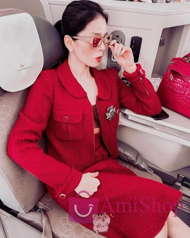 Sao Việt đi máy bay hạng thương gia: Người lên đồ đơn giản, người cầu kỳ nhưng ai cũng khoe túi hiệu - Ảnh 6.